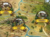 Golden Trails: The New Western Rush map