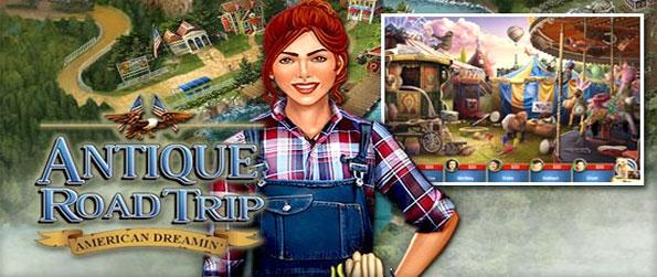 Antique Road Trip: American Dreamin - Explore the history of the USA in a brilliant and unique new hidden object game.