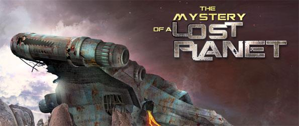 The Mystery of a Lost Planet - Your ship has crashed on a strange planet and you have to investigate the cause to be able to return home.