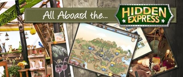 Hidden Express - Explore Gorgeous Scenes & Find The Lost Objects.