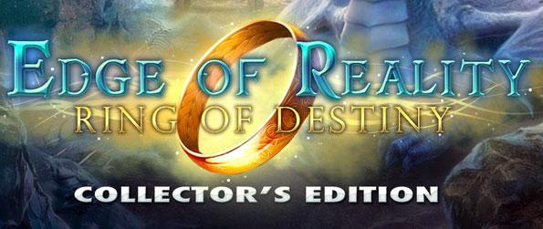 Edge of Reality: Ring of Destiny - Save Agora from an impending doom by partnering up with a wizard to stop the Shadow People at all costs in the hidden object adventure, Edge of Reality: Ring of Destiny