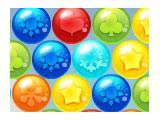 Coloured Bubbles and the Shooter in Bubble Adventures