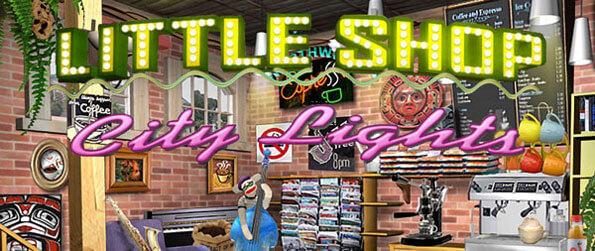 Little Shop 3: City Lights - Manage your coffee shop, delicatessen, and floral shop in the big city of lights!