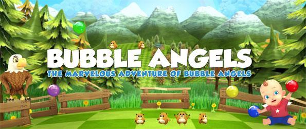 Bubble Angels - Join the angels as they rescue their friends in this new Facebook Bubble Game.