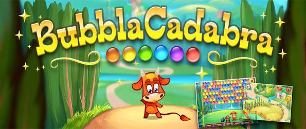 Bubble Cadabra - Enjoy a new fun and cute bubble shooter free on Facebook.