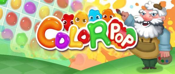 Color Pop - Enjoy a fun Match 3 Swiping Game free on Facebook.