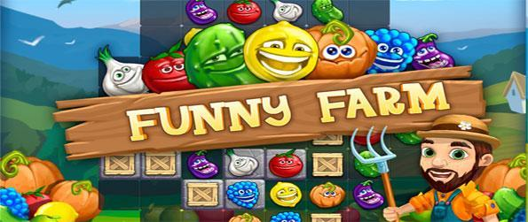 Funny Farm - Enjoy a fabulous farm themed match 3 game full of fun and fruits!