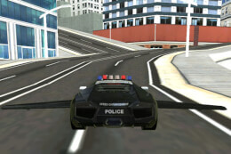 Flying Police Car Simulator thumb