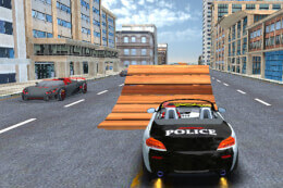Police Car Stunt Simulation 3D thumb