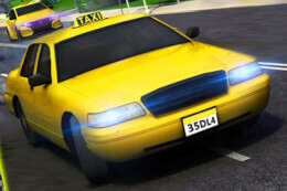 Modern City Taxi Car Simulator thumb