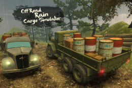 Off-Road Rain: Cargo Simulator thumb