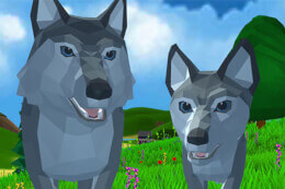 Wolf Simulator Wild Animals 3D thumb