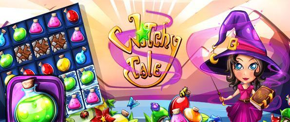 Witchy Tale - Help the witch brew helpful potions for her friends in a brilliant new match 3 game.