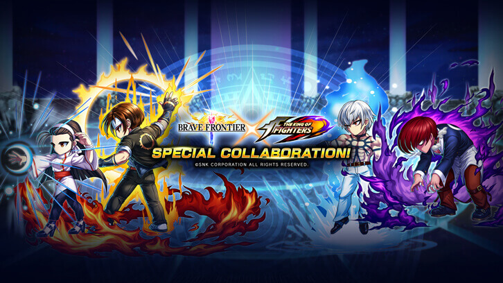 """""""Brave Frontier"""" and """"The King of Fighters"""" Collaboration Coming This Spring"""