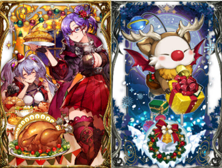 Get in the Holiday Spirit with Hit RPG War of the Visions Final Fantasy Brave Exvius