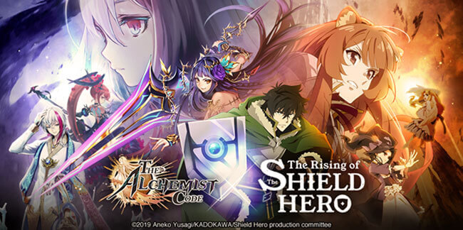 The Alchemist Code Kicks Off Collaboration Event with the Rising of the Shield Hero This December
