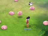 Being surrounded by Poring in Ragnarok M: Eternal Love