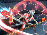 Ultraman: Legend of Heroes taking down enemies