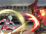 Ultraman: Legend of Heroes striking foes