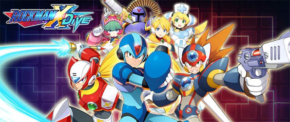 ROCKMAN X DiVE - Enjoy this phenomenal action RPG that brings this beloved franchise onto the mobile platform.