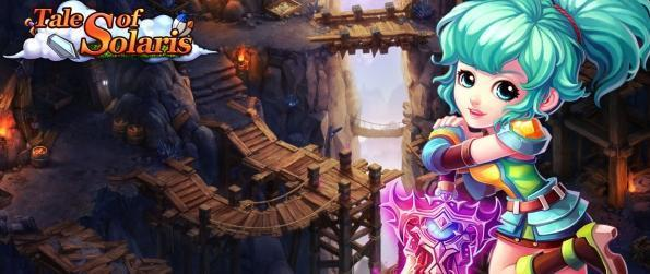 Tales of Solaris - Enjoy A Cute Colorful Browser MMORPG