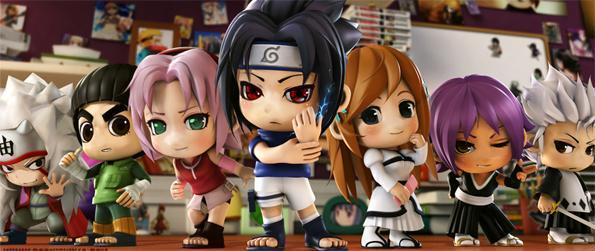 Pockie Ninja - Step into the world of Naruto and Bleach and become the strongest Ninja or Shinigami