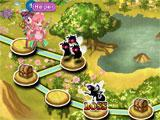 Flower Knight Girl: Campaign map