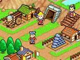 A thriving village in Lil' Conquest