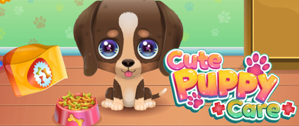 Cute Puppy Care - Take care of your very own virtual puppy in Cute Puppy Care!