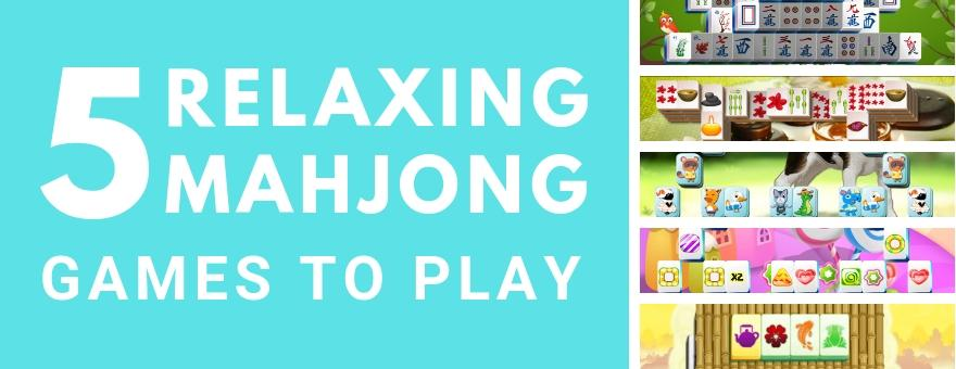 5 Relaxing Mahjong Games to Play on the PlayMarket large