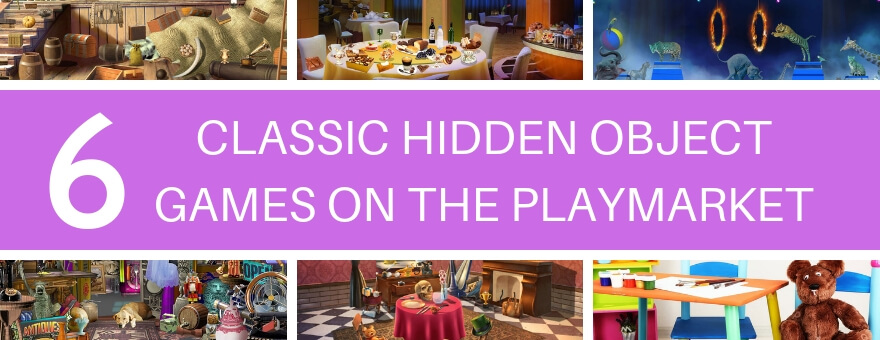 6 Classic Hidden Object Games on the Playmarket large