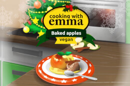 Cooking with Emma: Baked Apples thumb