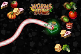 Worms Zone: A Slithery Snake thumb