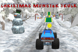Christmas Monster Truck thumb