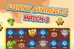Funny Animals Match 3 thumb