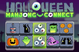 Mahjong Connect Halloween thumb