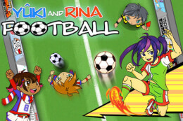 Yuki and Rina Football thumb