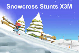 Snowcross Stunts X3M thumb