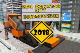 Real Excavator City Construction thumb