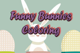 Funny Bunnies Coloring thumb