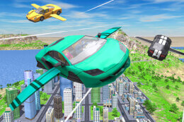 Flying Car Extreme Simulator thumb