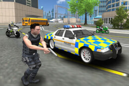 Police Cop Car Simulator City Missions thumb