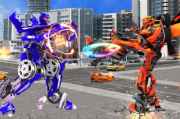Grand Robot Car Transform 3D Game thumb