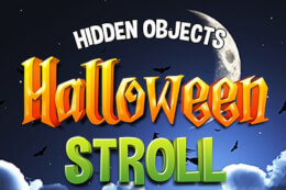 Hidden Objects Halloween Stroll thumb