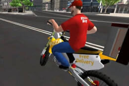 Motor Bike Pizza Delivery 2020 thumb