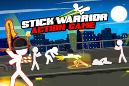 Stick Warrior Action Game thumb