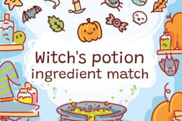 Witch's Potion Ingredient Match thumb