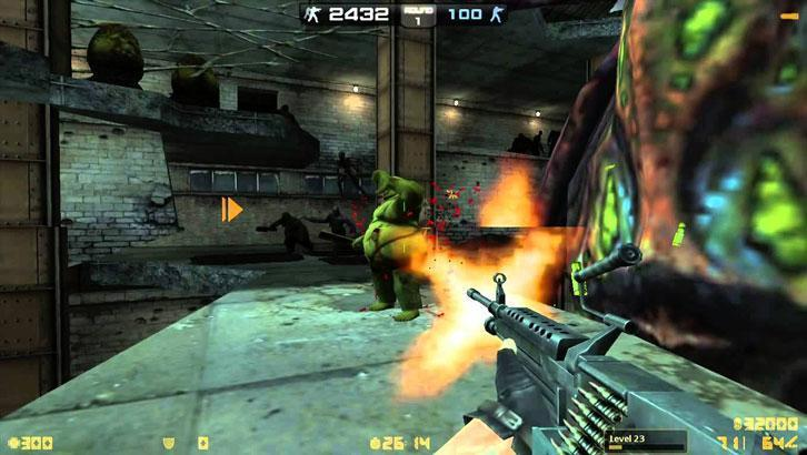 Counter Strike Nexon:Zombies: Gameplay
