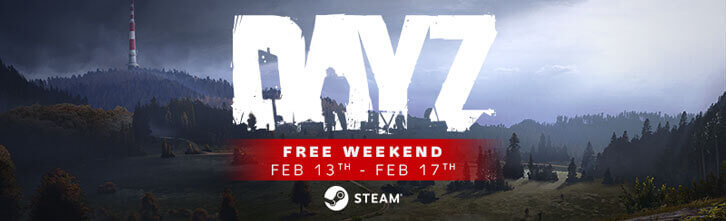 Play DayZ for FREE This Weekend!