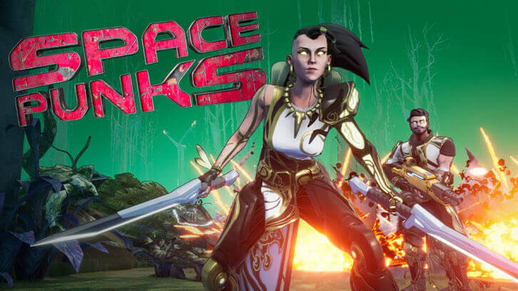 Space Punks, the new free-to-play sci-fi looter-shooter is now in Early Access on PC exclusively on Epic Games Store